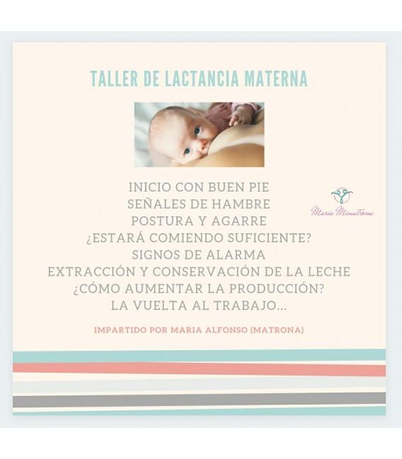 Taller lactancia materna : empezar con buen pie