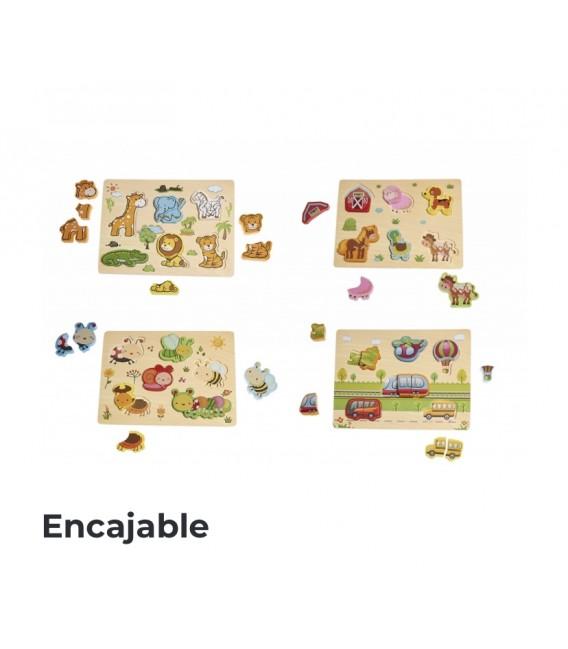 Puzzle Encajables