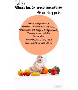 Taller grupal alimentación complementaria:MÉTODO BLW Y PURÉS